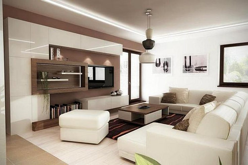 Modern Family Room Color Ideas