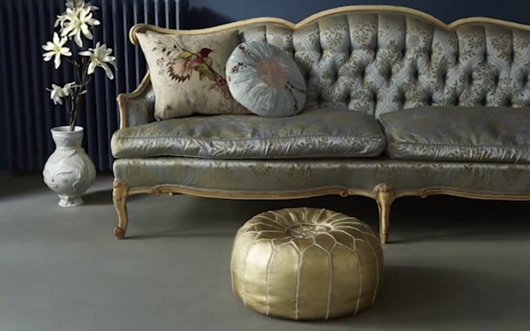 The interiors channel showcase Brintons – Luxury Furniture.