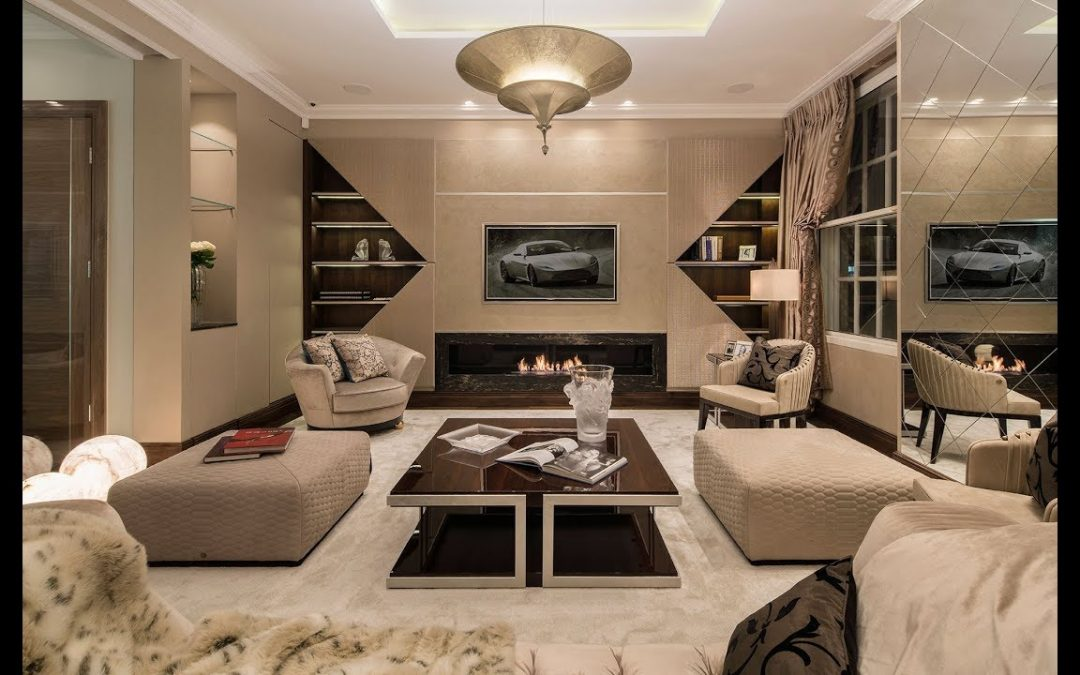 ULTIMATE LONDON LUXURY HOME – designed by 1.61 London & showcasing Roberto Cavalli Home Interiors