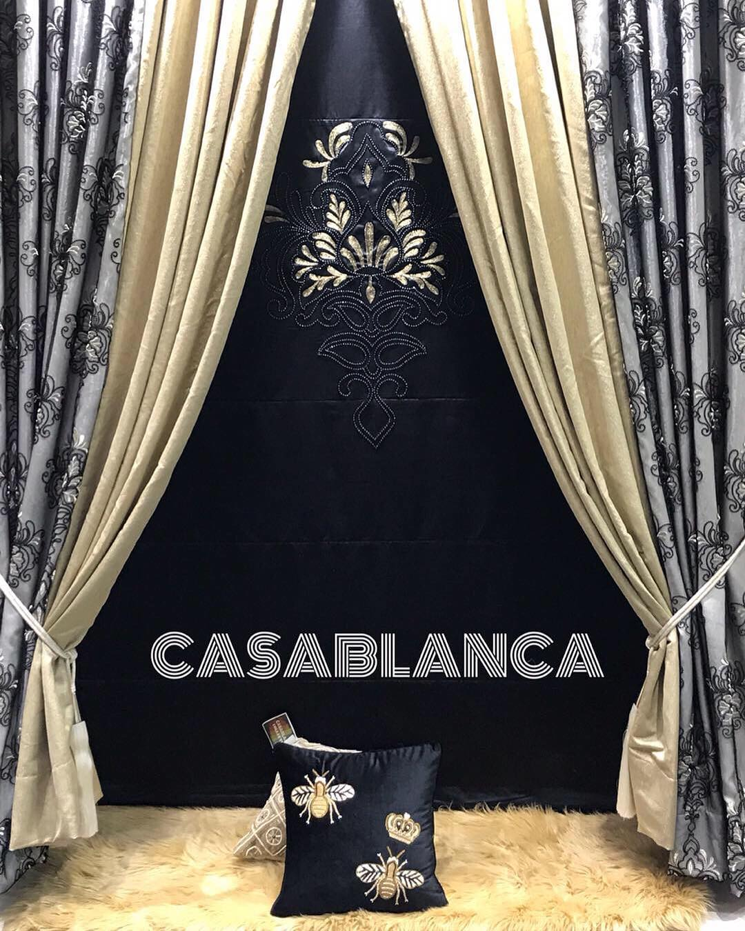 Casablanca Couture Window Treatments : Our luxuriously embellished dra