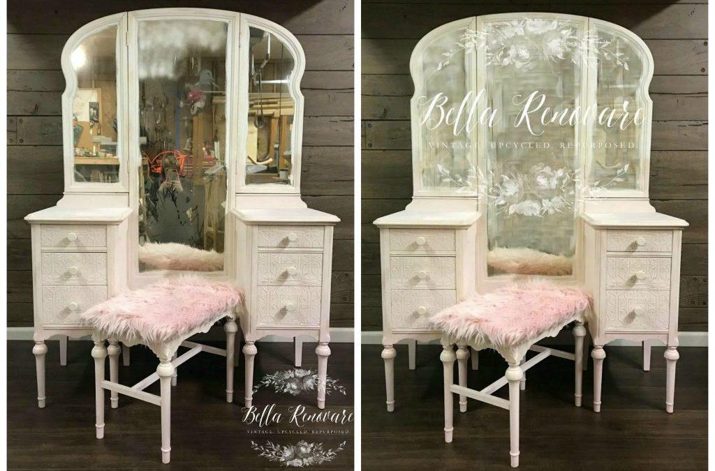 DIY Living Room Mirror Table Set! | Using Dollar Tree Mirrors to ...