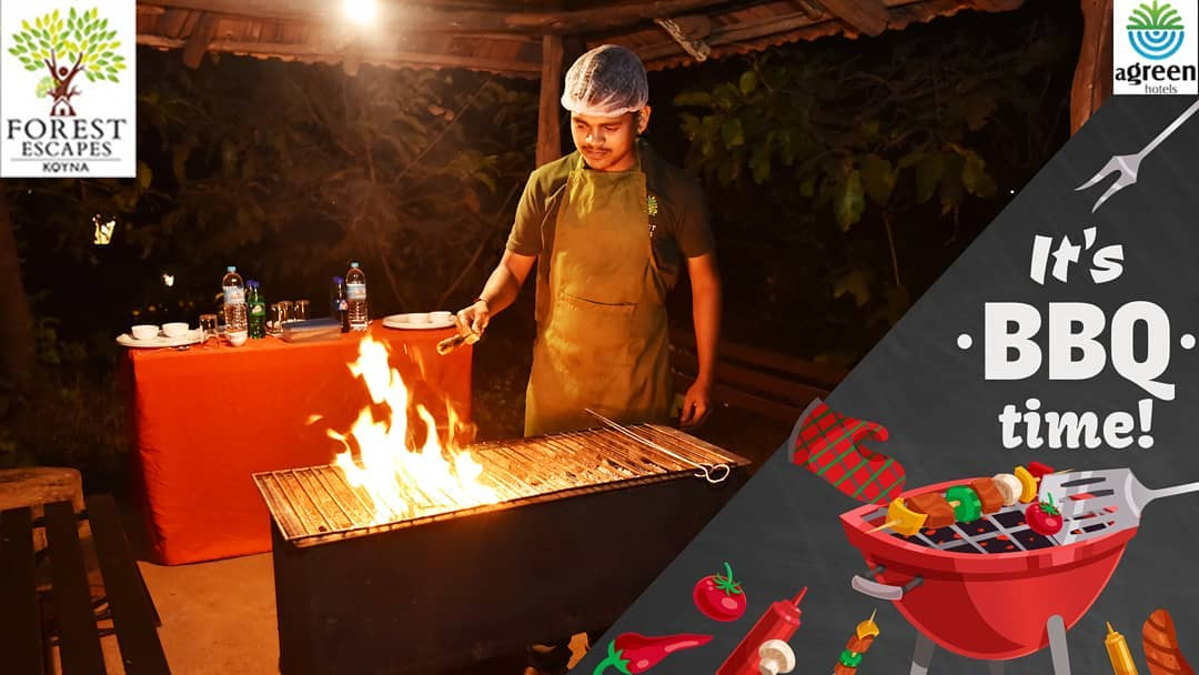 It's BBQ Time! Enjoy the grilling moments at Forest Escapes. You can