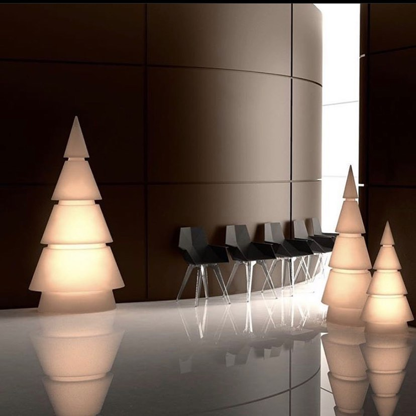 Decorate your home or office for the holidays with Vondom's Forest LED
