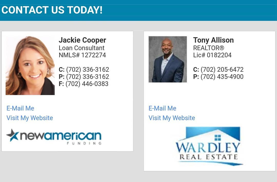 Contact us for all your real estate needs
