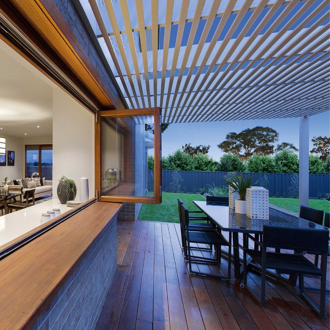 Our homes seamlessly integrate between indoor and outdoor to maximise