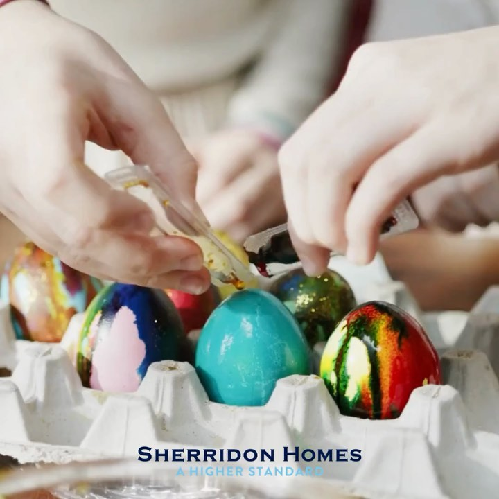 From everyone at Sherridon Homes, Happy Easter! Stay safe, positive an